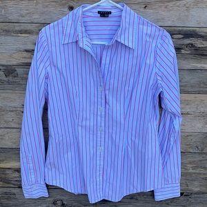 Theory | Larissa Stonewall Button Down Shirt Large